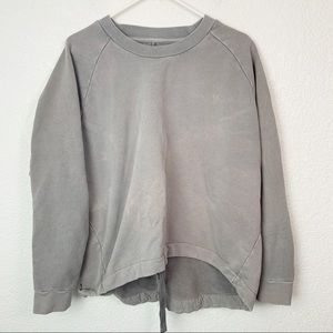 mile(s) by Madewell Gray Crewneck Sweater Large
